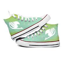 Fashion Luminous Hand-painted Cute Cartoon Fairy Tail Comfortable Canvas Shoes
