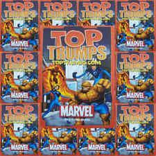 Top Trumps Single Card Marvel Comic Characters Heroes 2005 - Various (FB3)