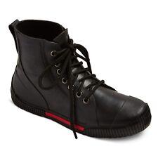 77160592a NEW Boys' Niam Rain Boots Black - Art Class Black
