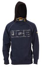 JCB Horton Hoodie Navy/Black (Sizes S-XXL) Work Hooded Jumper Trade Hoody Mens