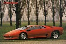 Lamborghini Diablo 1990-91 UK Market Launch Leaflet Sales Brochure