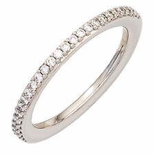 Diamantring 26 Diamanten Brillanten 0,21ct. 585 Gold Weißgold Weißgoldring 42079