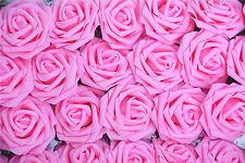 """3.2""""  50pcs Artificial Flower Foam Rose Leaf Bridal Bouquet Party Decor B109"""