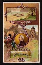 1892 snake ohio ariosa arbuckle coffee victorian trade card