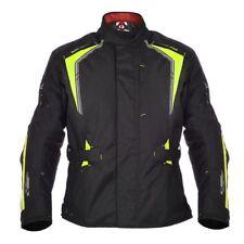 New Oxford Subway 3.0 Motorcycle Motorbike Waterproof Textile Jacket -Black Fluo