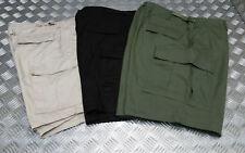 EU military style 100% Algodón Ripstop 6 Pockets Bermudas MILITARES - NUEVO