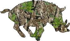 Camo Wild Boar Vinyl Sticker Decal hunt Pig hog bow shoot sal hogger