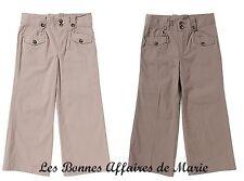 gCARLING - PROMO -80% - Pantalon basique beige ou marron - Neuf avec étiquette