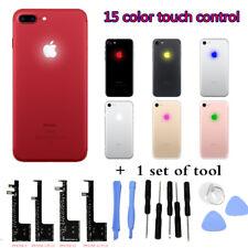 15 Color Kit apple lumineux Light Glow White iPhone 6 6s 6+ 7 Logo LED Case Back