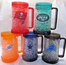 NFL Team Logo 16oz Freezer Mug Color Insert by The Memory Co -Select- Team Below
