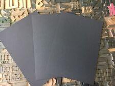 stabiler dicker Bastelkarton Tonpapier Fotokarton in schwarz 480 g/m²