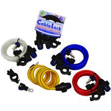 Oxford Lock Cable de ciclo de Moto Motocicleta con 3 Llaves - 1.8 M x 12 mm Nuevo