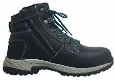 King Gee  Tradie Zip Black Work Boots Womens - WorkWearZone