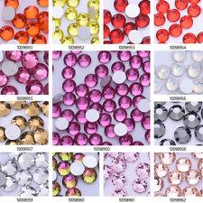 SS10 Gems Crystal Rhinestone Flat Non Hot Fix Crystal Craft for Nail Art 1440pcs