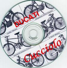 Ducati Cucciolo: recensioni,foto, manutenzione,restauro.