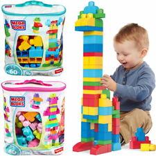 Mega Bloks Bausteinebeutel für Kleinkinder 21 oder 60 Bausteine Lernspielzeug