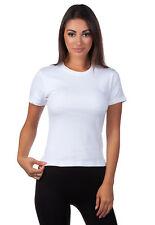 Hering Junior Ladies Basic Stretch CrewNeck T-shirt 02QQ