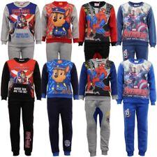 Niños sudadera pantalones set Marvel Patrulla Canina Vengadores Spiderman POLAR