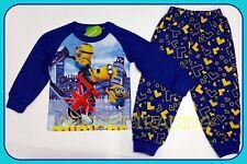 Despicable Me Minions kids boys girls Pyjamas tshirt top sleepwear pajamas