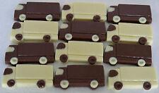 25 Hand-made Belgian Chocolate Mini-Lorries