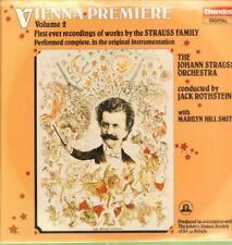 The Johann Strauss Orchestra(Vinyl LP)Vienna Premiere Volume 2-Chandos-NM/NM