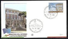 2002 ITALIA FDC  MINISTERO DELL'INTERNO - 2