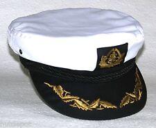 Kapitänsmütze weiß von Balke Fashion Freizeitmütze Elbsegler neu