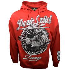 Men's Sweat Shirt -Fleece-Pullover Hoodie -Car Racing-NASCAR-Skull Driver-Panic.