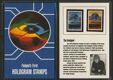 Finland 810-11 MNH Hologram in presentation pack