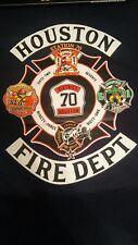Houst Fire Department District 70 T-shirt - Navy Tee