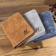 Novel Credit ID Card Holder Men Slim PU Leather Wallet Billfold Purse Clutch BL3