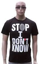 Wow cabaneli Milano STOP I don 't know Italy Star DJ Club Clubwear t-shirt G.L