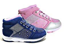 LELLI KELLY PANDA LK 6514 BLU ROSA scarpe bambina sneakers luci pelle camoscio