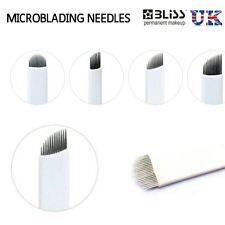 Microblading Needles - SPMU, Semi Permanent Makeup Manual Flexible Eyebrow Blade