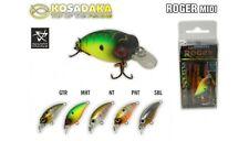 Leurre poisson nageur Roger Midi 32F KOSADAKA 32mm 2,6g pêche truite perche bass