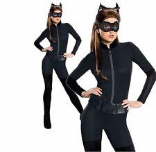 Official Adult CATWOMAN Fancy Dress Costume Ladies Batman Gotham Dark Knight TV