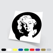 Adesivi in vinile Stickers Prespaziati Marilyn Monroe 2 Auto Notebook Pc parete