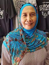 Tie Dye Hijab Cabeza Bufanda, modesto muslimah Headwear, fácil de usar Headwrap