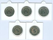 BRD   5 DM  ADFGJ  PP  (Wählen Sie unter: 1991 - 2001)