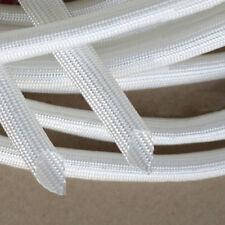 1mm~40mm Dia White Fibreglass Tube High Temperature Fiber Glass Sleeving