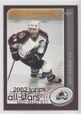2002-03 O-Pee-Chee #330 Joe Sakic Colorado Avalanche Hockey Card