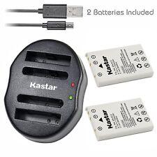 EN-EL5 Battery & Dual USB Charger for Nikon Coolpix P4 P80 P90 P100 P500 P510