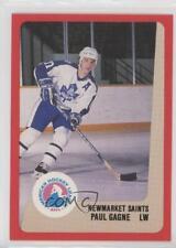 1988-89 ProCards AHL/IHL #PAGA Paul Gagne Newmarket Saints Hockey Card