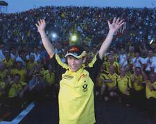 Takuma Sato Jordan team celebrate F1  Photograph
