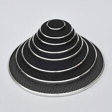 1pcs 1/2/3/4/5/6.5/8/10 inch Speaker Cover Decorative Circle Metal Mesh Grille