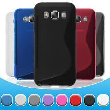 Funda de silicona Samsung Galaxy E5 S-Style -  + protector de pantalla