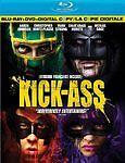 Kick-Ass (Blu-ray/DVD, 2010, 3-Disc Set, Canadian; Includes Digital Copy)