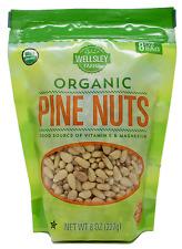 Wellsley Farms Pine Nuts USDA 100% Organic Gluten-Free, 8, 16, 32 or 48 OZ