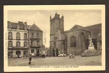 "ROSTRENEN (22) ""Charles LEDU / Tailleur"" & HOTEL du CENTRE en 1939"