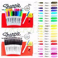 24 +1 SHARPIE Markers Permanent Sharpies Marker Pen Bulk Texta Fine Point